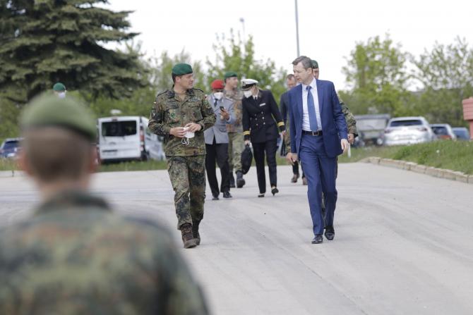 Secretarul de stat Thomas Silberhorn - Ministerul federal al Apărării din Germania. Sursa foto: Bundeswehr