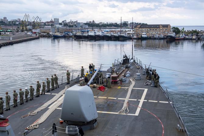 USS Laboon Sursa foto: US Navy