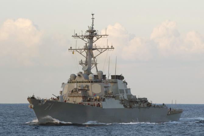 Distrugatorul USS Ross Sursa foto: US Navy
