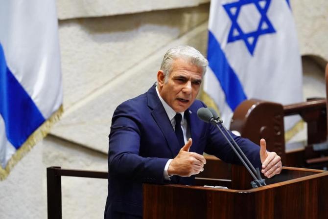 Yair Lapid șeful diplomației israeliene Sursa foto: Yair Lapid/Facebook