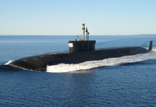 Submarinul rusesc Cneazul Vladimir, sursă foto: Ministerul Apărării de la Moscova