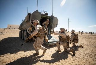 Foto: US Marine Corps, în timpul unui exercițiu. Sursă: U.S. Department of Defense (DoD)