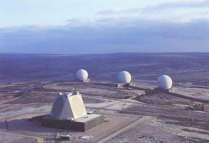 Foto: Radarul de la Fylingdales