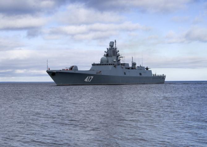 Amiral Golovko, sursă foto: Ministerul Apărării din Federația Rusă