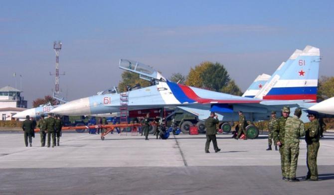 Baza aeriană rusă Kant din Kârgâzstan