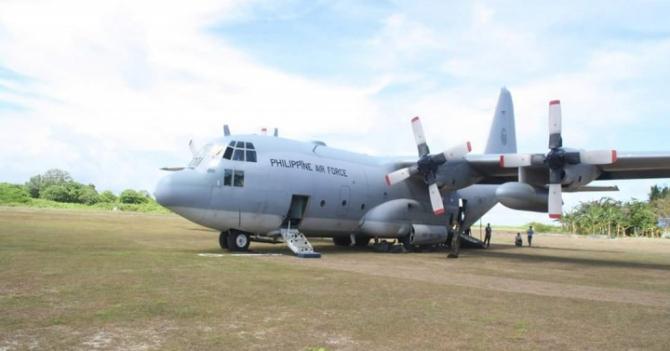 C-130, sursă foto: Guvernul de la Manila via. Philippine News Agency