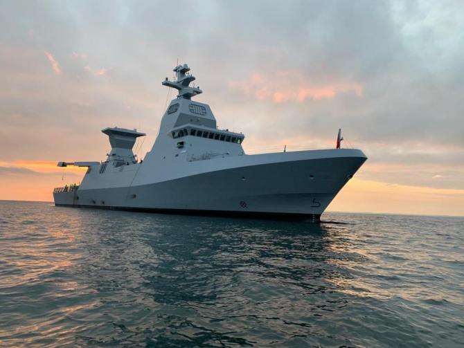Corvetă a Israelului din clasa SA'AR 6, sursă foto: Israel Navy via Naval News