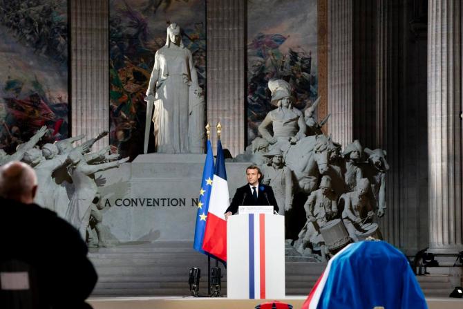 Emmanuel Macron, sursă foto: Palatul Elysee, Administrația Prezidențială a Franței via. Emmanuel Macron Facebook