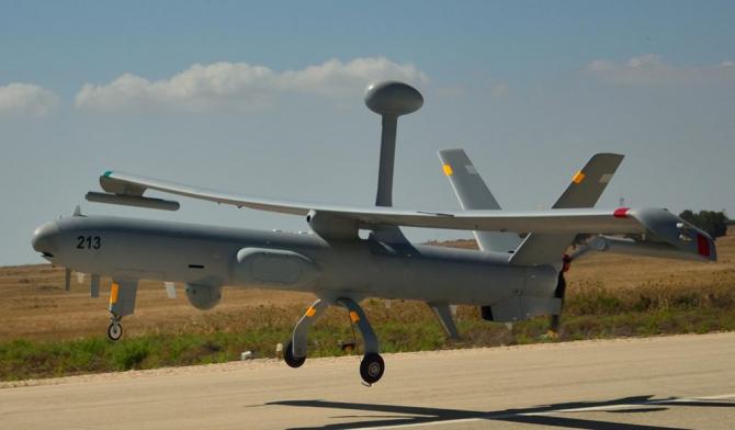 Dronă Hermes 450