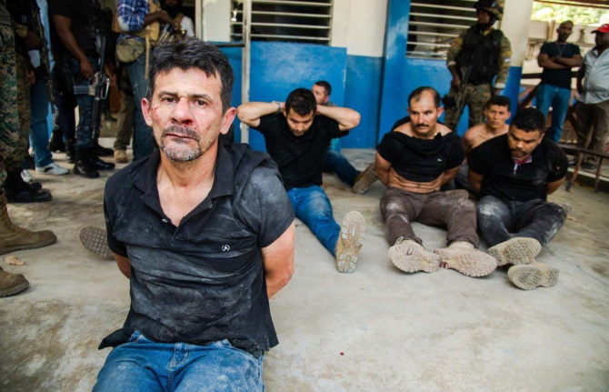 Grupul de comando responsabil de asasinarea preşedintelui haitian