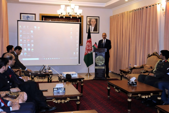 Najibullah Alikhil, ambasadorul Afganistanului la Islamabad, sursă foto: Ambasada Afganistanului în Pakistan