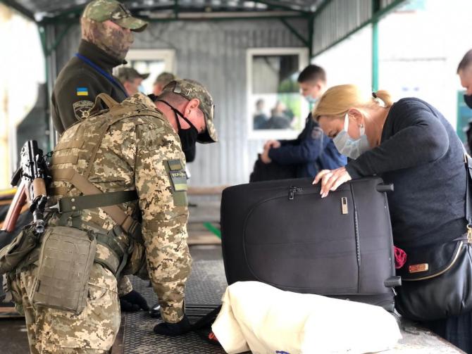 Poliția de frontieră a Ucrainei, sursă foto: Serviciul Frontierei de Stat (DPSU)