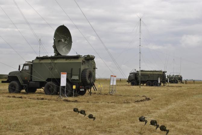 Sistem de război electronic rus Triada, sursă foto: Ministerul Apărării de la Moscova