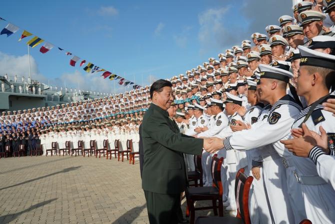 Președintele chinez și secretarul general al Partidului Comunist Chinez, Xi Jinping. Sursă foto: Ministerul Apărării de la Beijing