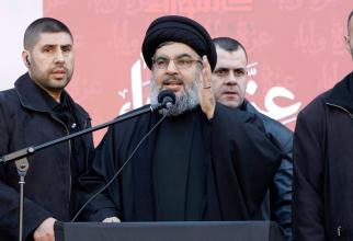 Liderul grupării teroriste Hezbollah, Hassan Nasrallah