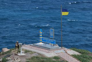 Insula Șerpilor. Sursă foto: Statul Major al Forțelor Armate din Ucraina