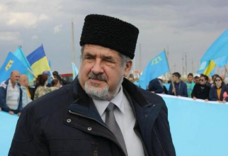 Refat Ciubarov, lider al tătarilor din Crimeea, stabilit la Kiev