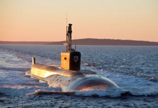 Kazan, primul submarin al clasei Borey-A, Proiect 885M. Sursă foto: Ministerul Apărării de la Moscova