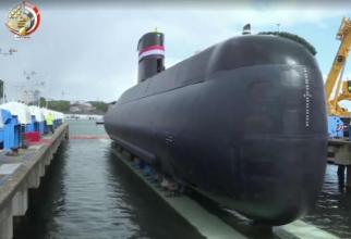 Submarin Type 209, Egipt. Sursă foto: Ministerul Apărării de la Cairo