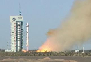 Lansarea satelitului chinez Yuhai 1-02. Sursă foto: Captură YouTube canal SciNews