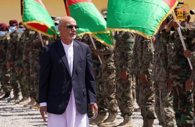 Ashraf Ghani, sursă foto: Administrația Prezidențială din Afganistan