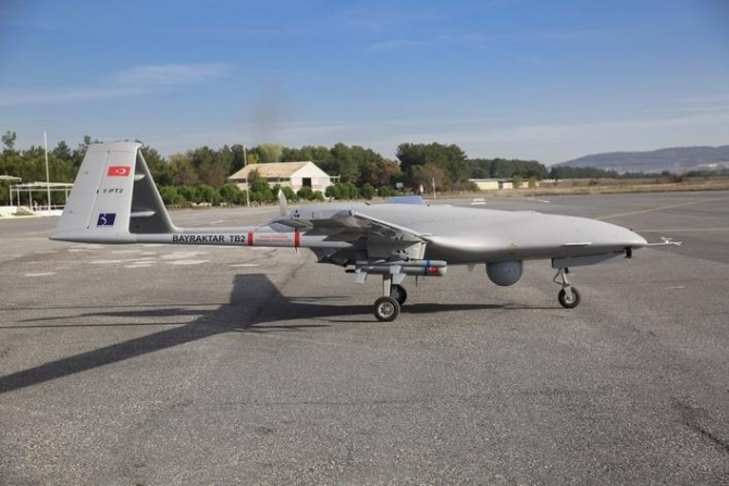 UAV-ul turc Bayraktar TB2, sursă foto: Baykar Makina
