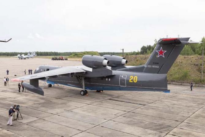 Be-200, sursă foto: Ministerul Apărării de la Moscova