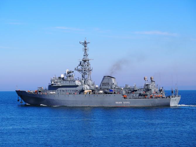 Nava Ivan Khurs, sursă foto: Flota Rusă a Mării Negre