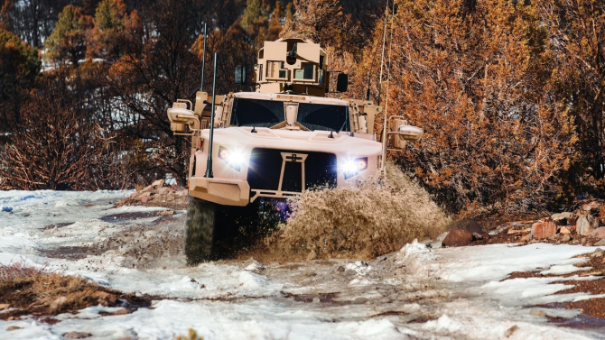 JLTV, sursă foto: Oshkosh Defense