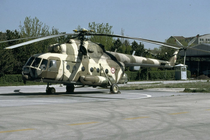 Un elicopter Mi-17 al Turciei. Sursă foto: AVIONEWS