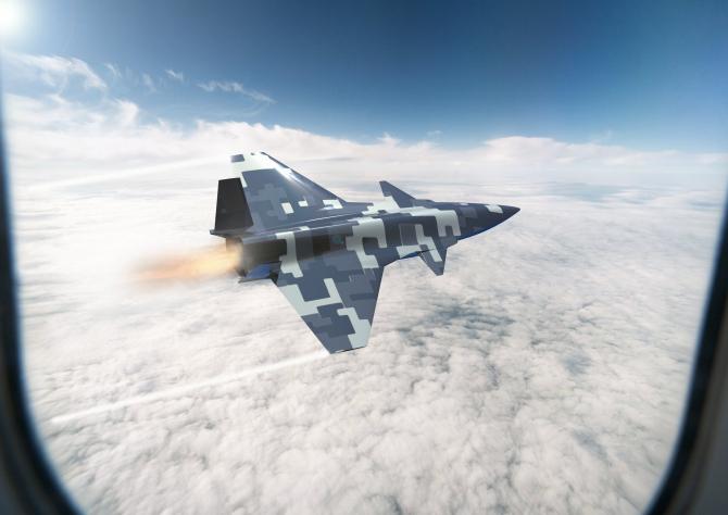 Viitorul avion de luptă fără pilot pe care îl vor dezvolta turcii. Imagine concept, sursă foto: Baykar