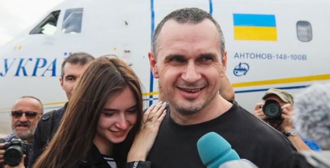 regizorul de film şi activistul ucrainean Oleg Senţov