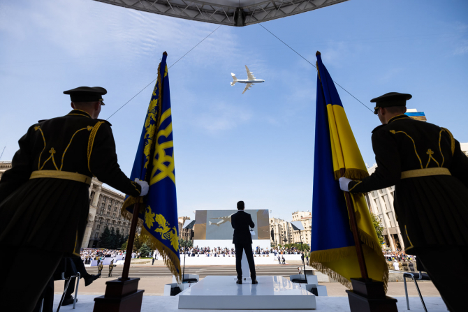 Președintele ucrainean Volodimir Zelenski. Sursă foto: Administrația Prezidențială a Ucrainei