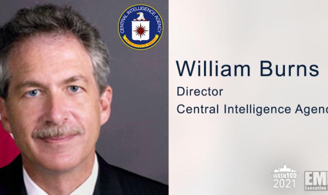 William Burns, directorul CIA, sursă foto: GovConWire