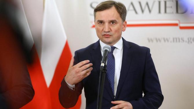 ministrul polonez al justiţiei, Zbigniew Ziobro