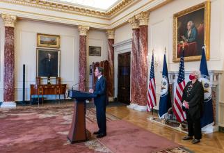 Secretarul de stat american Antony Blinken, șeful diplomației americane. Sursă foto: U.S. Department of State