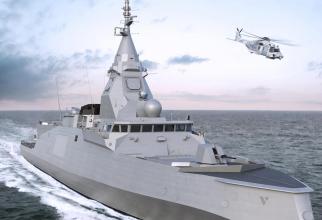Fregata Belharra, sursă foto: Naval Group