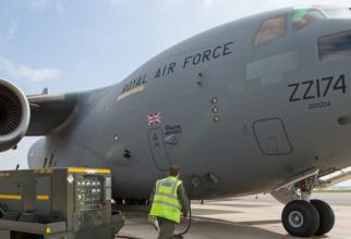 C-17 Globemaster britanic, sursă foto: Royal Air Force (RAF)