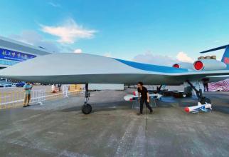 Noua dronă chineză CH-6, sursă foto: Jesus Roman @jesusfroman Twitter
