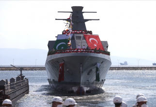 Corvetă clasa Babur, sursă foto: Ministerul Apărării din Turcia