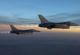 F-16, SUA. Sursă foto: US Air Force