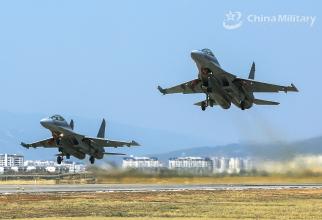 J-16, sursă foto: Ministerul Apărării din China