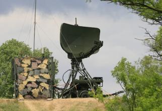 Radar TPS -79 R produs de Lockheed Martin, aflat în dotarea Armatei României. Sursă foto: Forțele Aeriene Române