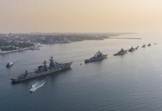 Flota rusă a Mării Negre, sursă foto: Ministerul Apărării de la Moscova