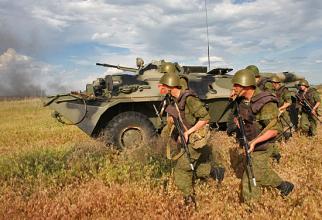 Rezerviști militari ruși, sursă foto: Ministerul Apărării de la Moscova