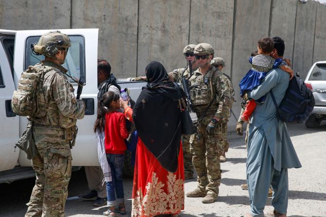 Evacuarea din Kabul. Sursă foto: U.S. Department of Defense (DoD) 