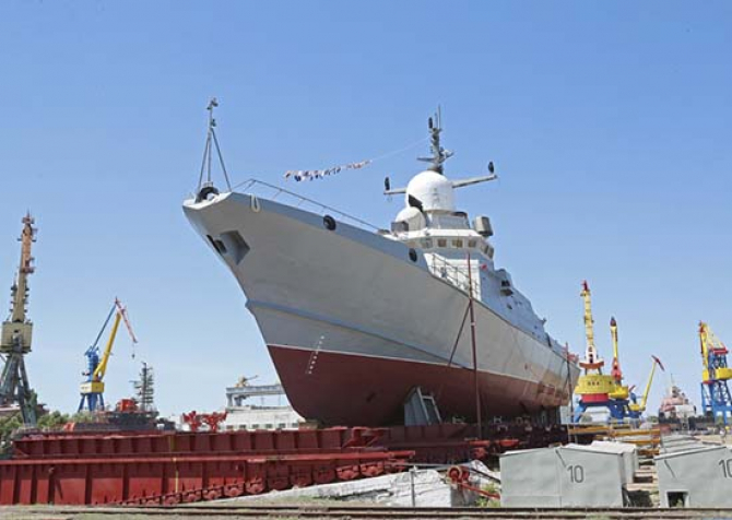 Nava rusă Askold, sursă foto: Ministerul rus al Apărării