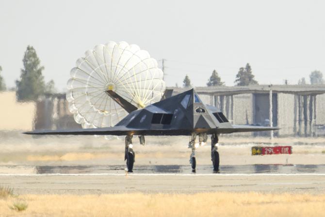 F-117 Nighthawk, sursă foto: Air National Guard