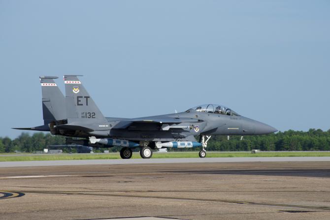 F-15E Strike Eagle, sursă foto: US Air Force