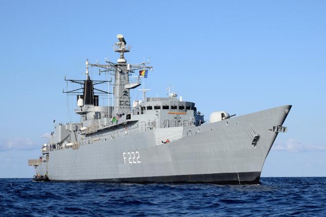 Fregata Regina Maria, sursă foto: Forțele Navale Române